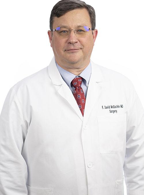 F. David McEachin, MD