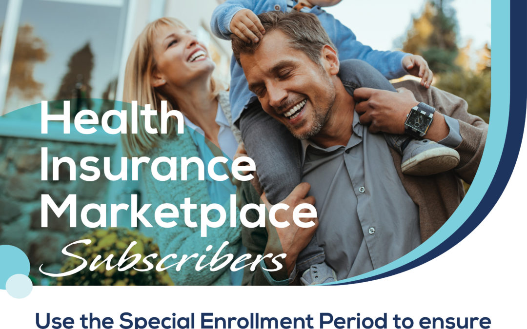 Health Insurance Marketplace subscribers can switch to Anthem during the Special Enrollment Period